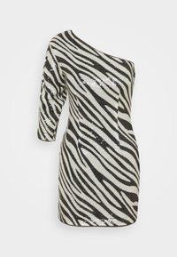 Guess - FLORENCE DRESS - Cocktail dress / Party dress - black/white - 3