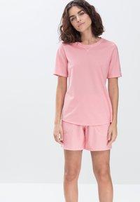 mey - LANGES SCHLAFSHIRT SERIE ZZZLEEPWEAR - Pyjama top - powder pink - 0