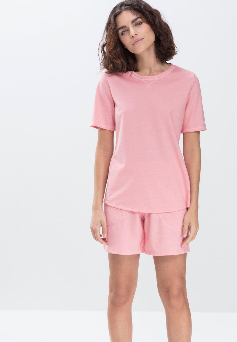 mey - LANGES SCHLAFSHIRT SERIE ZZZLEEPWEAR - Pyjama top - powder pink