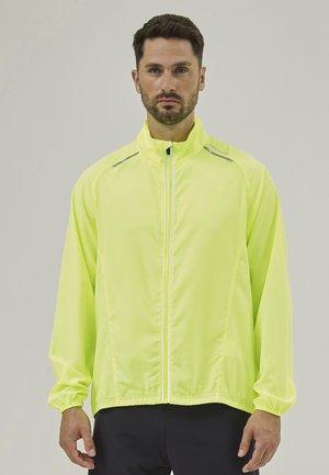 Training jacket - safety yellow