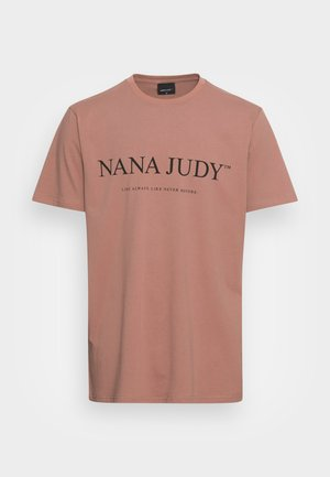 IMPERIA - T-shirt imprimé - caramel