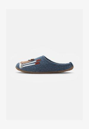 PANTOFFEL PINGUIN & SKI - Domácí obuv - nordischblau