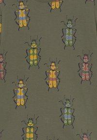 Lindex - MINI 2 PACK - T-Shirt print - khaki - 3