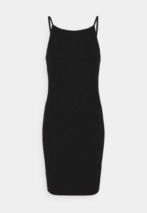 NMEDDA - Pouzdrové šaty - black
