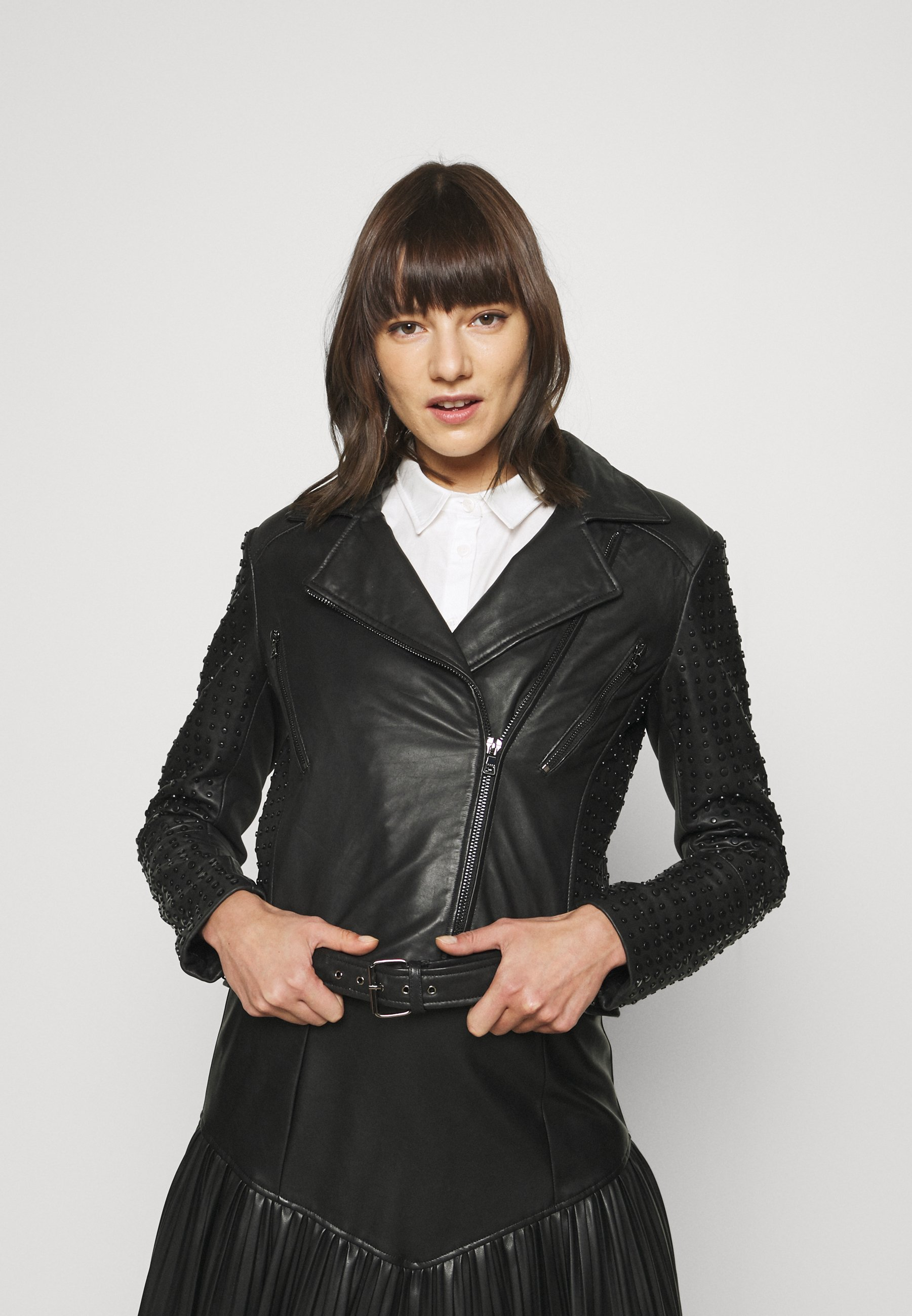 Femme BELL - Veste en cuir
