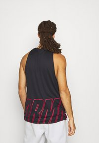Under Armour - BASELINE REVERSIBLE TANK - Top - black/red - 2