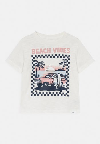 TODDLER BOY - Print T-shirt - new off white
