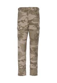 Schott - Cargo trousers - kaki - 0