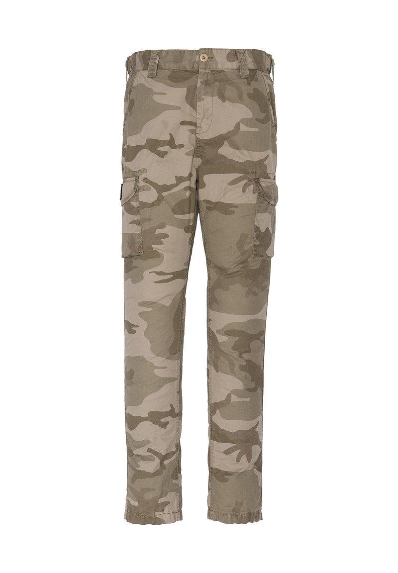 Schott - Cargo trousers - kaki