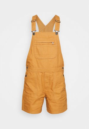 STAND UP OVERALLS - Outdoor shorts - umber brown