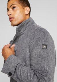 TOM TAILOR - COAT 2 IN 1 - Classic coat - mid grey - 3