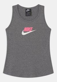 Nike Sportswear - Top - carbon heather/sunset pulse - 0