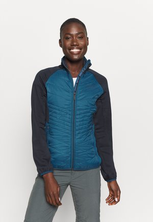 CLUMBER HYBRD - Chaqueta outdoor - blueopal/navy
