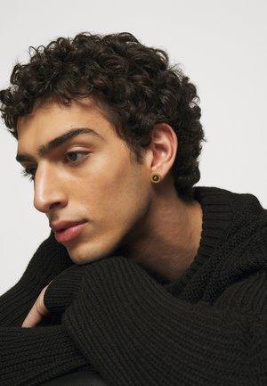 Earrings - nero/oro tribute