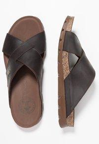 Panama Jack - SALMAN - Pantolette flach - brown - 1
