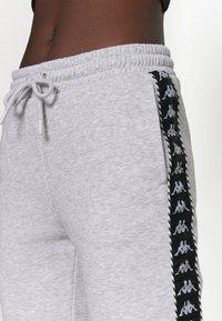 Kappa - INAMA - Pantaloni sportivi - mottled grey - 4