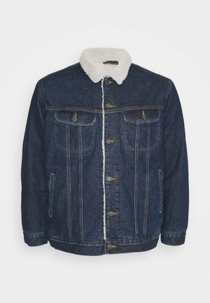SHERPA JACKET - Chaqueta de entretiempo - dark-blue denim