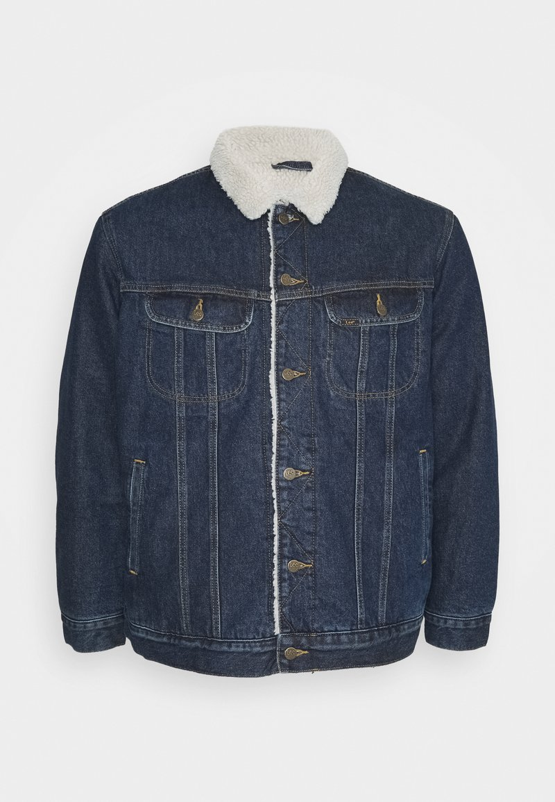 Lee - SHERPA JACKET - Allvädersjacka - dark-blue denim