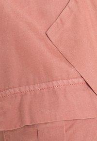 Noisy May - NMVERA ENDI SHIRT DRESS - Day dress - old rose - 2