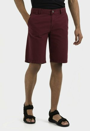 Shorts - berry red