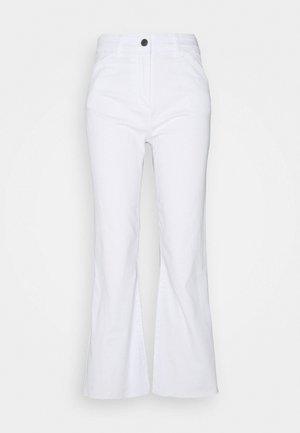 SEMITONO - Straight leg jeans - optic white