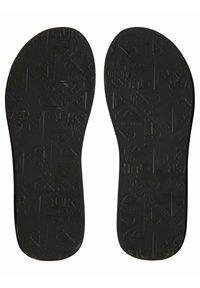 Quiksilver - MASSAGE  - Pool shoes - black/blue/grey - 3