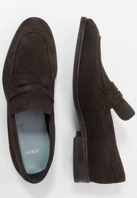 JOOP! - KLEITOS LOAFER - Elegantní nazouvací boty - dark brown - 1
