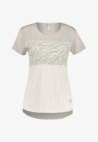 Print T-shirt - silber (12)