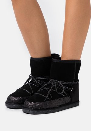 CHAMBERY - Lace-up ankle boots - noir