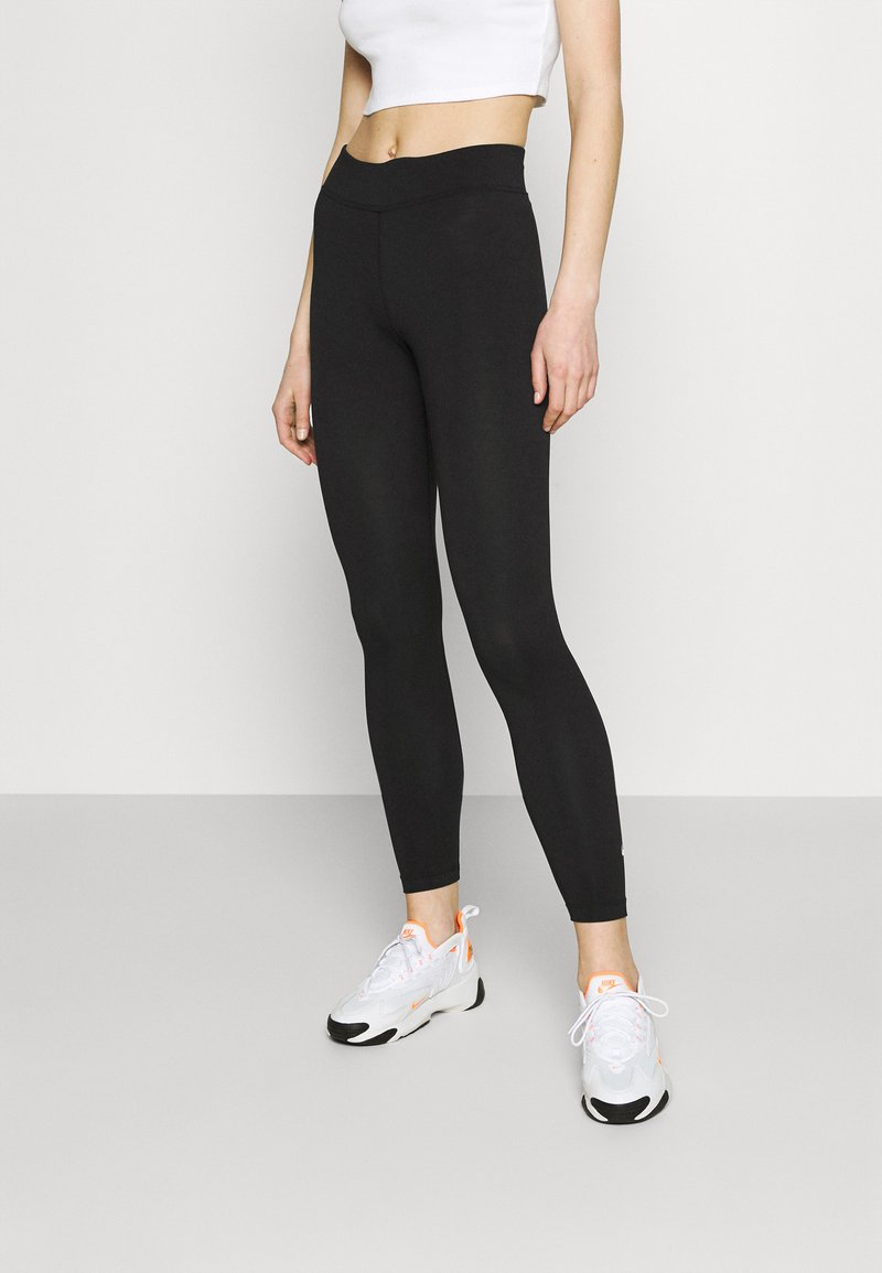 Nike Sportswear - Leggings - Hosen - black/white