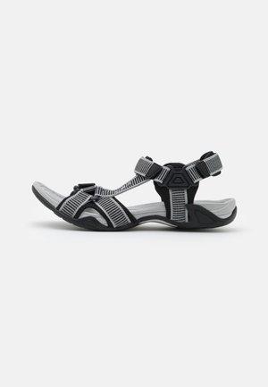 HAMAL HIKING  - Walking sandals - cemento/nero