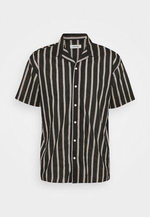 JJGREG STRIPE SHIRT - Camicia - black