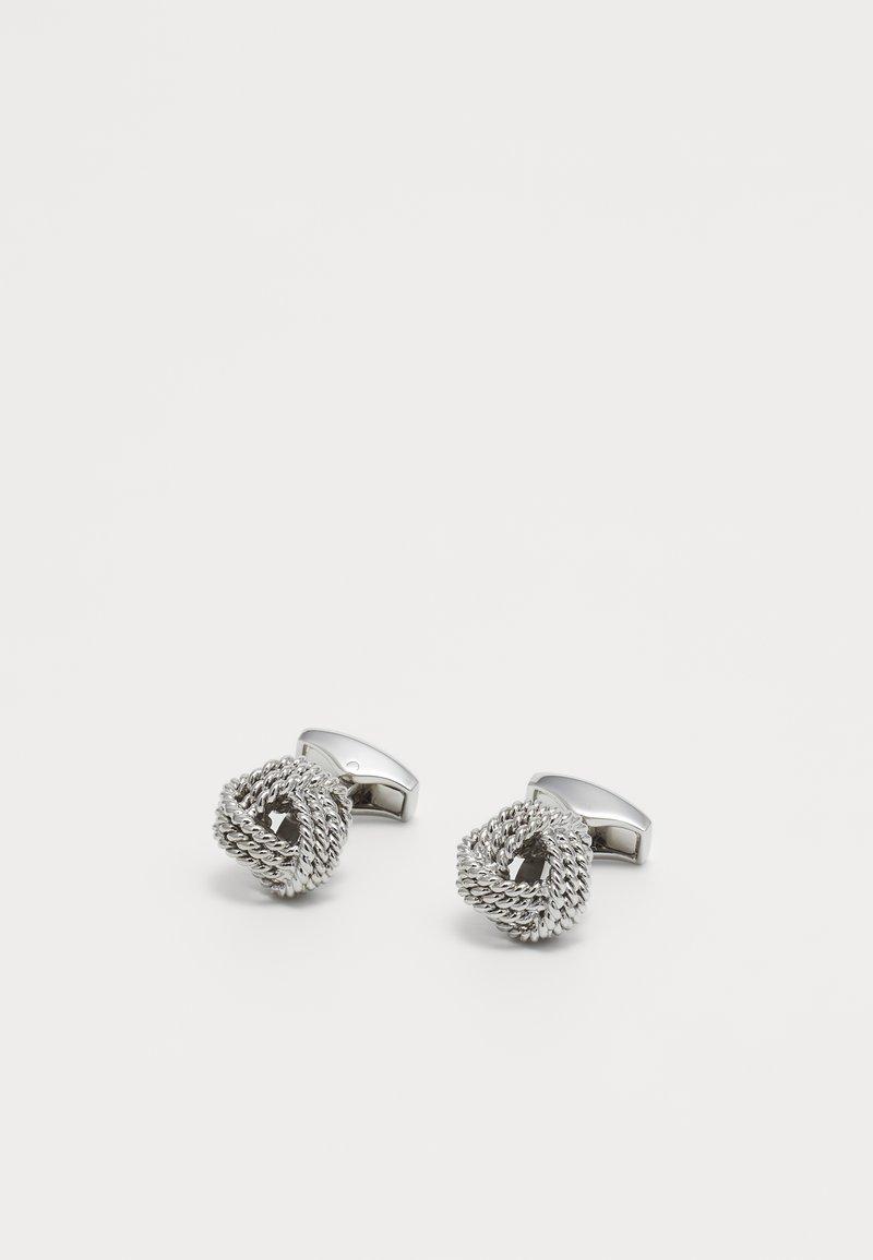 Tateossian - KNOT - Gemelos - silver-coloured