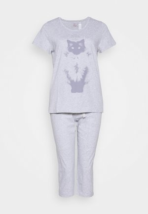 CAPRI SET - Pyjamaser - grey combination