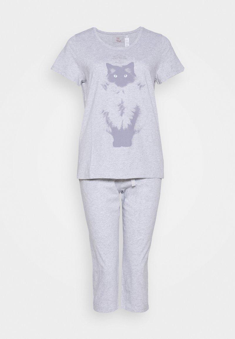 Triumph - CAPRI SET - Pyjamas - grey combination