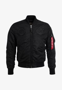 Alpha Industries - NASA - Bombejakke - all black - 5