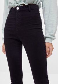 Bershka - Jeggings - black - 3