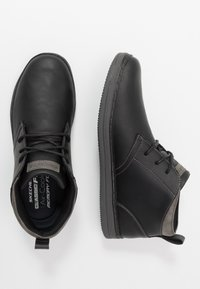 Skechers - HESTON - Zapatillas altas - black - 1