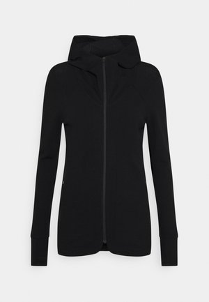AWAY II ZIP HOOD - Zip-up hoodie - black
