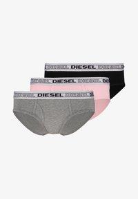 Diesel - OXY 3 PACK - Pants - grey/black/rose - 5