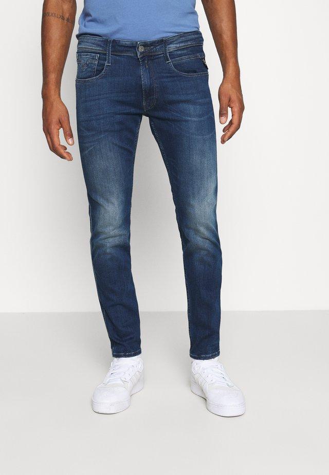 ANBASS - Straight leg jeans - blue