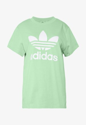 T-Shirt print - prism mint/white