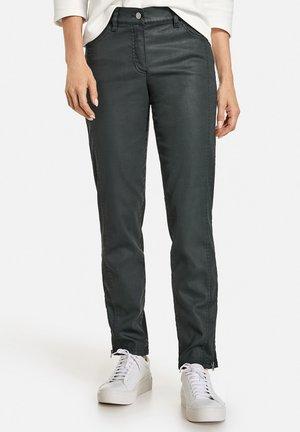 VERKÜRZT MIT SAUMZIPPERN BEST4ME - Slim fit jeans - mineral green
