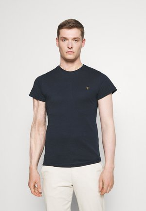 FARRIS 2 PACK - T-shirt basic - farah red marl/true navy