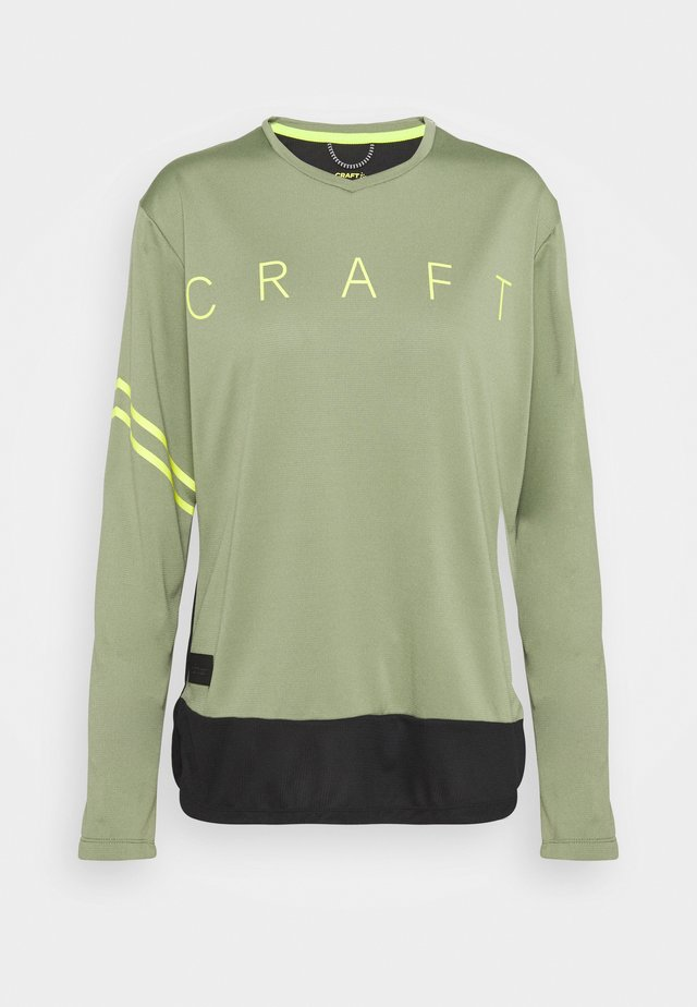 CORE OFFROAD - Langærmede T-shirts - black
