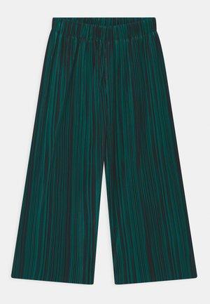 ALIECIA - Kalhoty - green/black