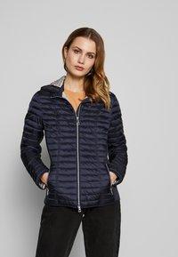 Barbara Lebek - STEPP MIT KAPUZE - Light jacket - navy - 0