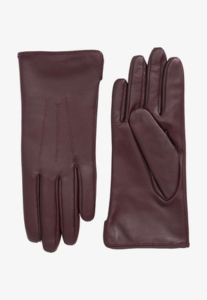 Gloves - berry