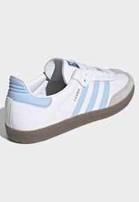 adidas Originals - SAMBA OG SHOES - Sneakers - white - 4