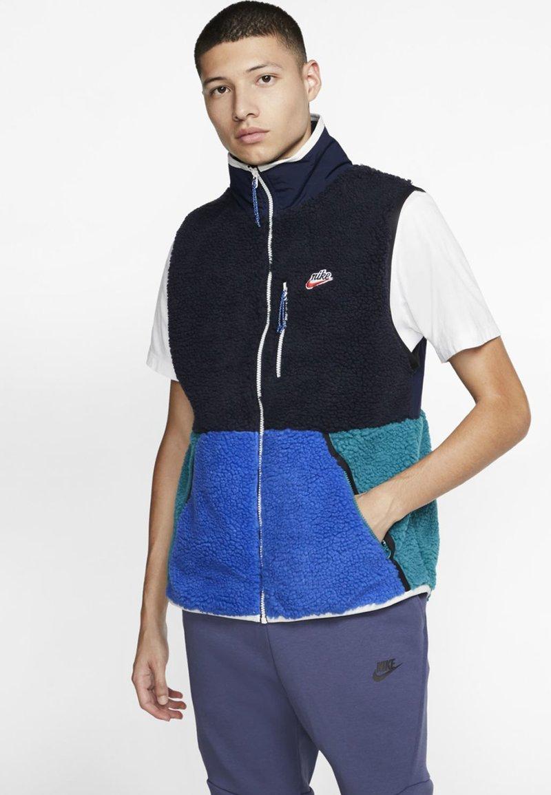 Nike Sportswear - VEST WINTER - Väst - dark blue/royal blue